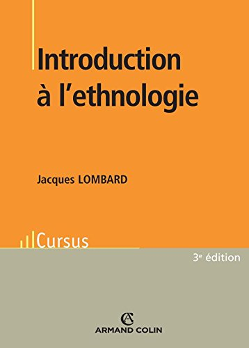 Introduction à l'ethnologie par Jacques Lombard