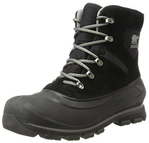 Sorel Herren Buxton Lace Boots, schwarz/grau (quarry), Größe: 44