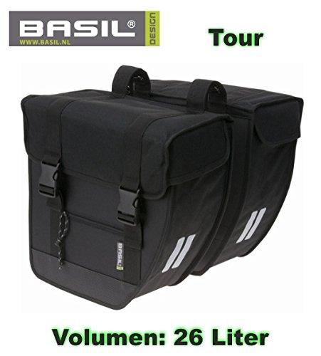 Basil Gepäckträger- Packtasche Mira, Mara, Tour, Malaga - 01170400