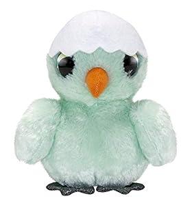 LUMO STARS Tipu - Juguetes de Peluche (Animales de Juguete, Verde, Blanco, Felpa, 3 año(s), Pollo, Niño/niña)