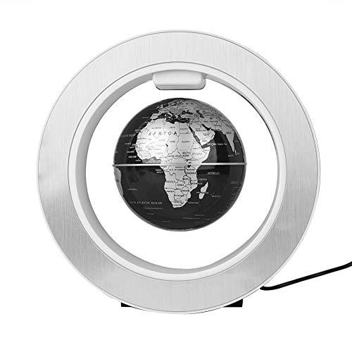 Fdit del Globo de levitación magnética Flotante Globo de Mapa giratoria Mundial con diseño de luz LED