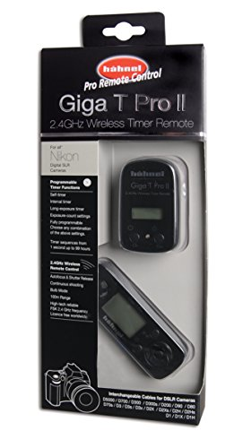 Hahnel Giga T Pro II Wireless Remote Control for Nikon DSLR with Timer and Time Lapse