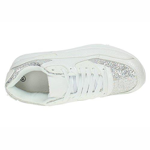 DEMAX Donna Scarpe Sportive Bianco