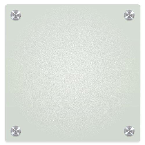 Best-Rite 84072 Enlighten Whiteboard, Hartglas, trocken abwischbar, 0,8 Zoll / 0,6 cm, Schwarz 1 x 1 Feet Frosted Pearl