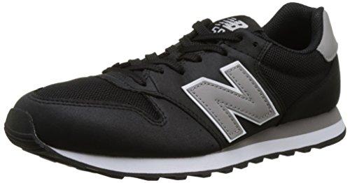 New Balance 410, Scarpe da Ginnastica Basse Uomo, Nero (Black), 43 EU