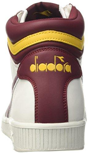 Diadora Game P High, Baskets Hautes Homme Multicolore (Bco/vla Prugna/gll Giunchiglia)