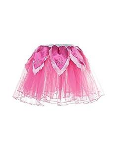 DREAMY DRESS-UPS 50440Hot Rosa/Rose Flores Tutu Disfraz (Tamaño Mediano)