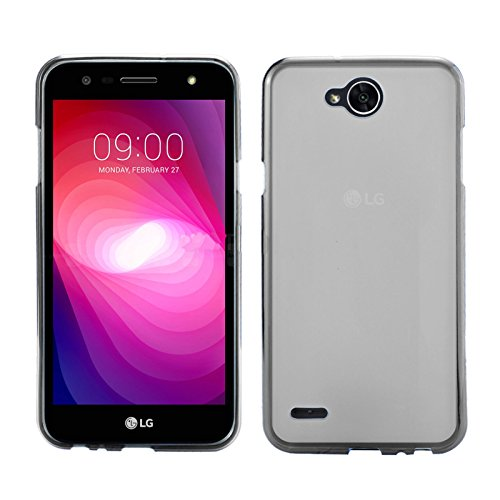 TBOC® Transparent Gel TPU Hülle für LG X Power2 - LG X Power 2 (5.5 Zoll) Ultradünn Flexibel Silikonhülle