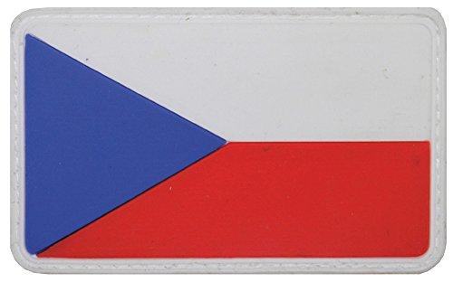 Parche velcro, República Checa, 3D, tamaño: