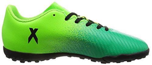 adidas Jungen X 16.4 Tf J Fußballschuhe SGREEN/CBLACK/CORGRN