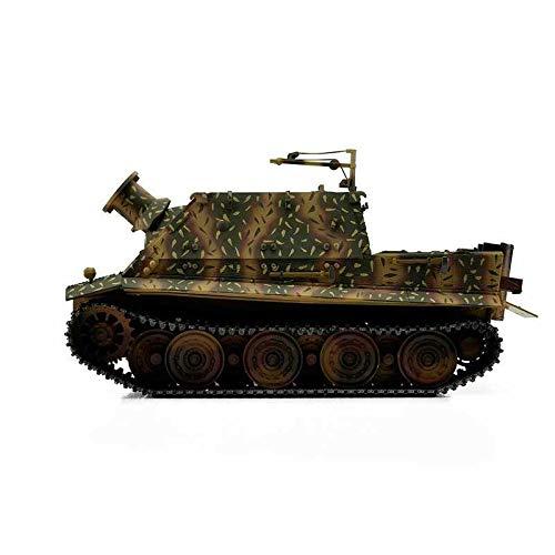 RC Auto kaufen Kettenfahrzeug Bild 2: Torro 3819-I - Sturmtiger Panzer mit Metallunterwanne IR, hinterhalt tarnlackierung*