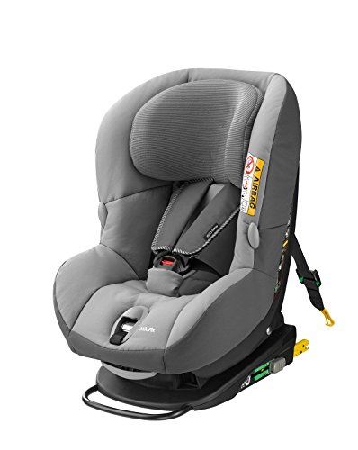 Maxi-Cosi MiloFix - Reboarder Kindersitz, Gruppe 0+ /1 (0-18 kg), Kinderautositz mit Isofix, concrete grey