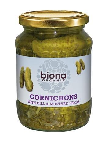 Biona Cornichons Org 330g