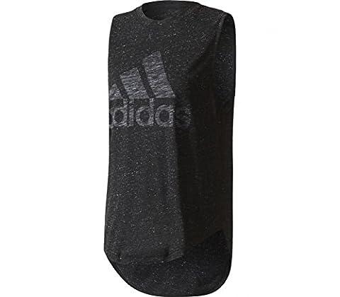 Adidas Performance T-shirt Winner Muscle Noir T-shirts Manches Courtes Femme Multisports