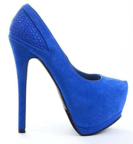 Fourever Funky , Escarpins pour femme Bleu