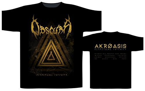 Obscura Perpetual Infinity T-Shirt nero XL