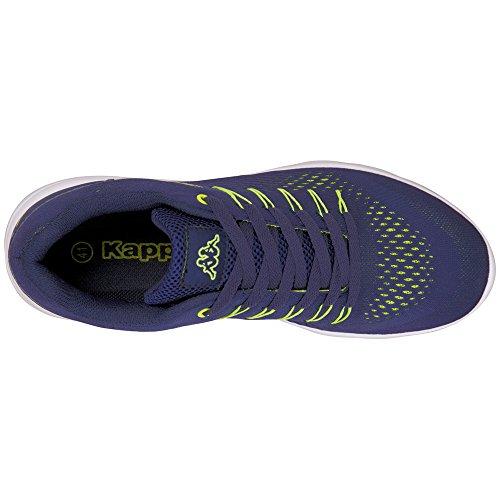 Kappa Unisex Adulto Nexus Sneaker Blu (6733 Navy / Lime)
