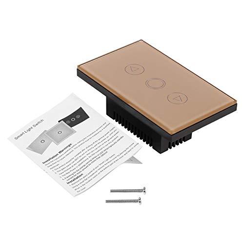 TOPINCN 1 Modo de Panel de Vidrio Templado Atenuador Sensor Táctil Lámpara...