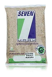 7 Mark Kuthiravali Rava, 500 Grams