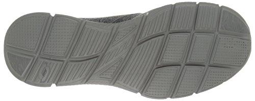 SKECHERS - EQUALIZER FORWARD THINKING 51504 gray black Grau