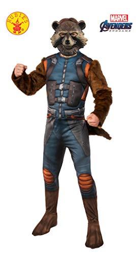 Rubie's Offizielles Avengers Endgame Rakete Waschbär Deluxe Erwachsene Herren Kostüm (Avengers Erwachsene Kostüm)