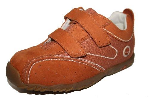 Timberland , Chaussures de ville à lacets pour fille Orange  - Orange (paprika/rouge)