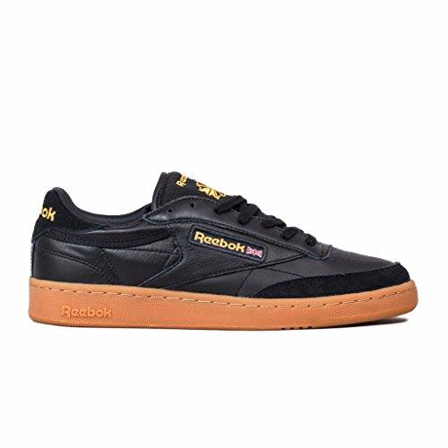 Reebok Club C 85 Herren Sneaker Schwarz Schwarz