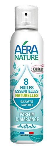 AERA NATURE: ambiente naturale profumo, 125 ml, con 8 oli essenziali 'Australia' - eucalipto, canfora. by del Columbus Natura Laboratory