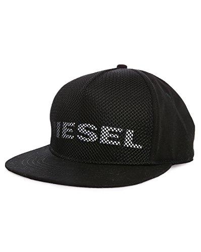 DIESEL - Kappen - Herren - Schwarze Mütze aus Mesh Diesel Cimesh für herren - 2