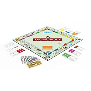 Monopoly Original USA Version with New York City Streets (Cover May Vary)