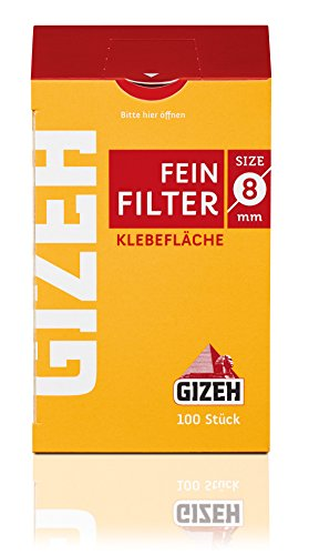 Gizeh Filter 8mm Zigarettenfilter Feinfilter cigarette 50x 100 (Zigaretten Kaufen)