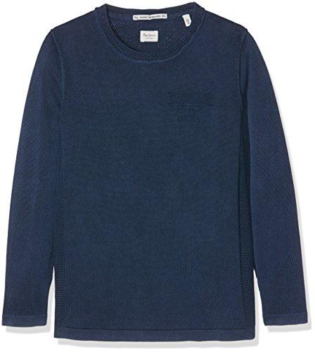 Pepe Jeans Jungen Pullover BOB TEEN Einfarbig, Blau (Sailor),XS/12 ans Preisvergleich