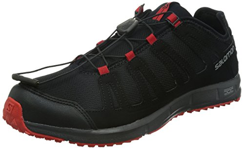 Salomon Black Sports Shoes for Men - 327157-11  available at amazon for Rs.2694