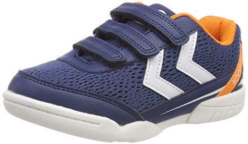 Hummel Unisex-Kinder Root JR VC 2.0 Multisport Indoor Schuhe, Blau (Poseidon 8616), 33 EU