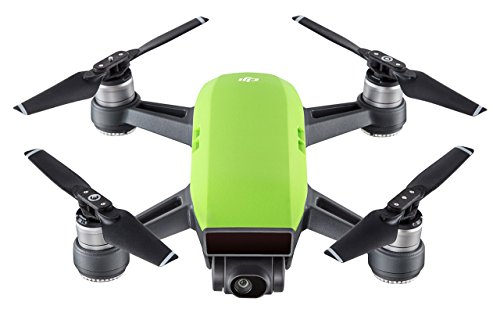 DJI Spark - Mini-Drohne mit max. Geschwindigkeit von 50 km/h, bis zu 2 km Übertragungsreichweite, 1080p Videos mit 30 fps und 12 Megapixel Fotos - Grün
