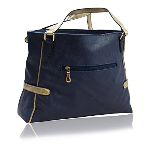 Handbag Krazy, Borsa tote donna Marine Blue