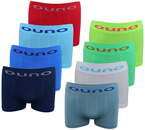 8 PACK Jungen Boxershorts Junge Boxer Unterhose Unterwäsche Mikrofaser Slips Schlüpfer (152-164) (12-14Jahre) Modell 10 - 8 STÜCK