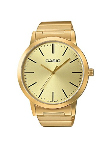 Analog Gold Uhr Casio (Casio Collection Unisex Retro Armbanduhr LTP-E118G-9AEF)