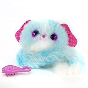 Pomsies Peluche Interactive Cachorro Lulu, 82844, Azul
