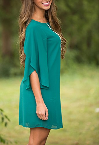 Donna Vestiti Lunghi Eleganti Estivi Chiffon Abito Da Sera V Profondo Senza Schienale Senza Spalline Young Fashion Vestito Da A Pieghe Spacco Sottile Cerimonia Maxi Abiti Verde