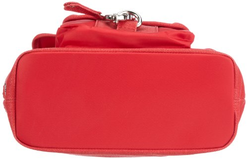Sansibar Typhoon B-341 TY 19, Borsa a tracolla donna, 22 x 24 x 9 cm (L x A x P) Rosso (Rot (red))