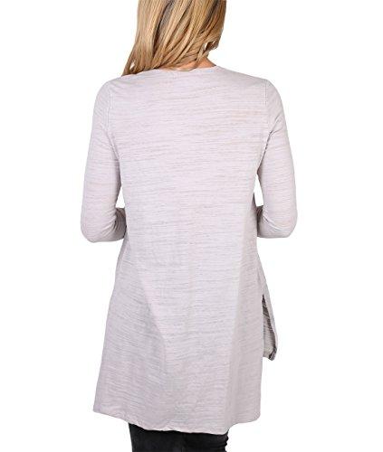 KRISP -  Maglia a manica lunga  - Camicia - Basic - Maniche lunghe  - Donna Grey