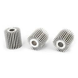 Led Energy Saving Lamp Heatsink Cooling Fin Cooler 28mmx9mmx30mm 3 Pcs