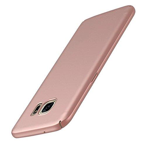 Cuitan PC Difficile Housse pour Apple iPhone 7 plus (5.5 Inch), Lisse Désign Retour Housse Back Cover Protecteur Etui Coque Case Shell pour iPhone 7 plus (5.5 Inch) - Or rose(Téléphone non inclus) Or rose