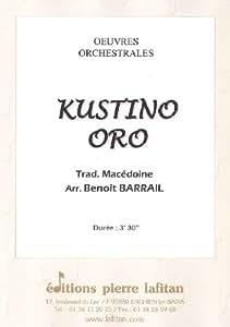 Partitions classique LAFITAN MACEDOINE TRAD. - KUSTINO ORO - ENSEMBLE MIXTE Ensemble mixte