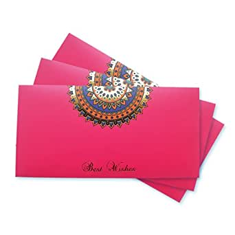 Amazon.in Gift Card - Gift Envelope | Pink | Pack of 3 - Rs.1500