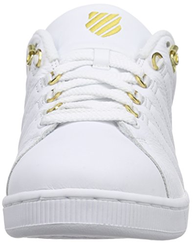 K-Swiss Lozan Iii 50th Herren Low-Top Weiß (50TH/WHITE/GOLD 955)