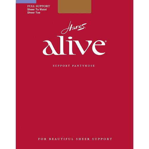 Alive to Pantyhose Sheer South Pacific Hanes Waist Full Support dIqtw6g