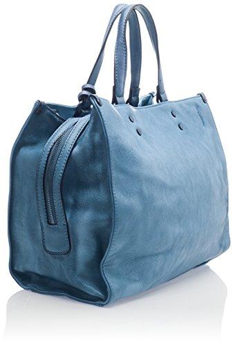 XTI - 85920, Borse a mano Donna Blu (Jeans)