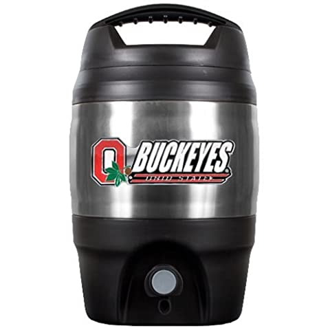 NCAA Ohio State Buckeyes Tailgate Jug, 1 gallon, Multi by Great American Products